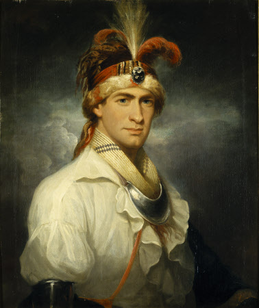 William Augustus Bowles (1763-1805), as a Native American (Creek) Indian Chief