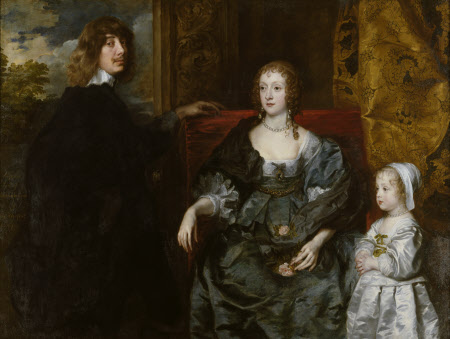 Algernon Percy, 10th Earl of Northumberland (1602-1668) his First Wife Lady Anne Cecil (d.1637), ...