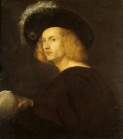 An Unknown Man in a Black Plumed Hat