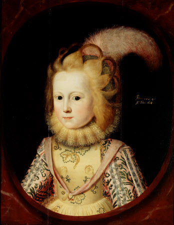 Lady Margaret Sackville, later Countess of Thanet (1614-1676), aged 4