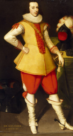 Sir Alexander Carew, 2nd Bt (1608–1644)