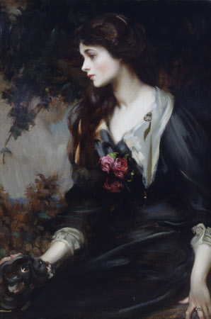 Lady Marjorie Manners, later Marchioness of Anglesey (1883-1946), aged 17