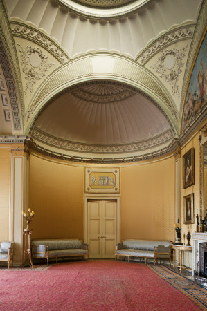 The Yellow Drawing Room at Wimpole Hall, Cambridgeshire.